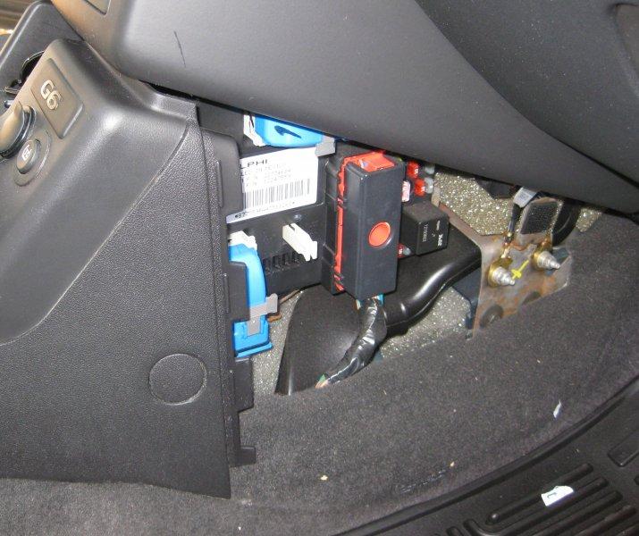 2007 pontiac g6 rear fuse box pontiac g6 ft 7800r installation na0q ham radio  pontiac g6 ft 7800r installation na0q
