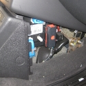 Front Fuse Panel Open